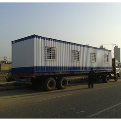 Lift And Shift Office Container