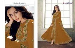 Aashirwad Creation Anaya Gold Exclusive Long Anarkali Suits