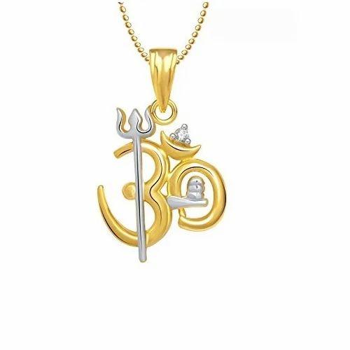 Om gold pendant at rs 30900 piece karol bagh new delhi id om gold pendant aloadofball Gallery