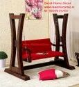 Modern Wooden Swing Jhula For Home