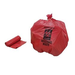 Bio Hazard HDPE Garbage Bag