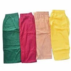 Straight Fit Ladies Cotton Plain Legging