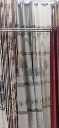 Long Crush Readymade Door And Window Modern Curtains For Home
