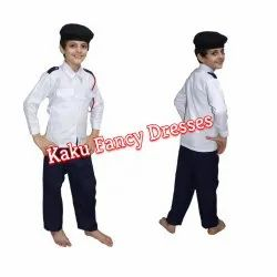 Traffic Police Kids Costume