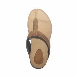Ladies Synthetic Fancy Flip Flop Sandal, Size: 36-41