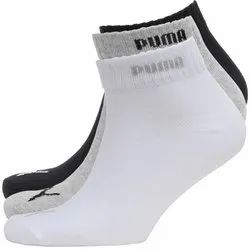Cotton Lycra Plain Mens Puma Socks