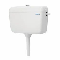 White Cera Ceramic Cistern