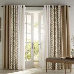 Plain Cotton Designer Curtains