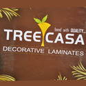 Brown Treecasa Laminates, Thickness: 1 Mm, Matte