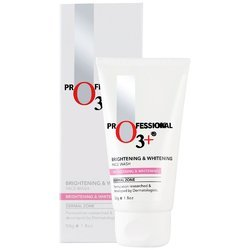 O3  Brightening and Whitening Face Wash with Cucumber and Aloe Vera Extracts (50g)