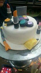 Fondant Makeup Cake at Rs 1700