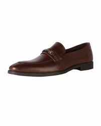 Van Heusen Brown Slip Ons Shoes