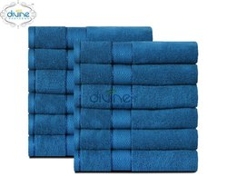 Cotton Divine Overseas Elysian 12 Piece Face Towel Set