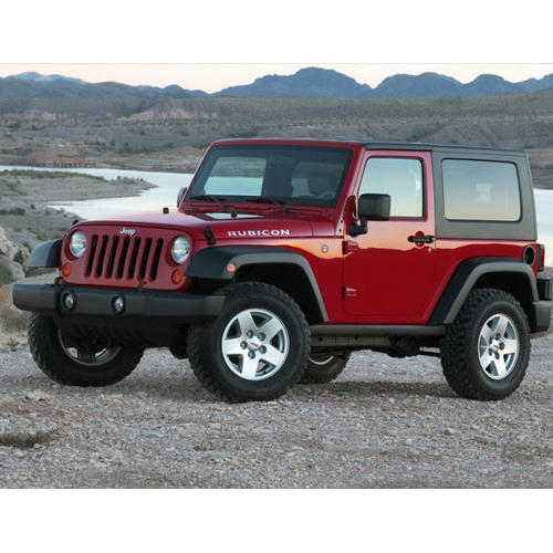 Black And Red Indian Rubicon Jeep Rs 1000000 Piece Indian Jeep