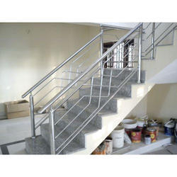 Steel Railing Designs For Stairs 3