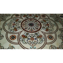 Printed Marble Inlay Flooring Service