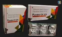 Tablet Cefuroxim Axetil and Potassium Clavulanate 375mg Tablets, 375 Mg, Packaging Type: Aluminium foil