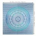 Blue Color Cotton Handmade Decorative Wall Hanging Tapestry