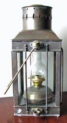 Vintage English Ship Lantern