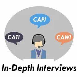 In-Depth Interviews (CATI, CAPI & CAWI)