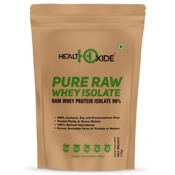 HealthOxide Pure Raw Whey Isolate 90% 1 kg