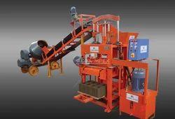 Block Maker Machine with Conveyor