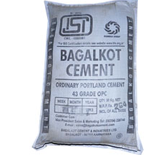 Opc 43 Grade Bagalkot Cement