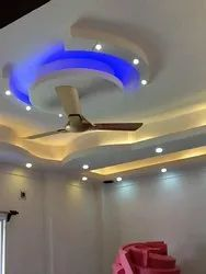 White powder and jute Modular False Ceiling Service, in residential and commercial, in Kolkata