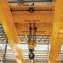 Mild Steel Double Girder EOT Crane