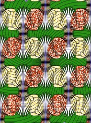 African Polyester Fabric, GSM: 150-200