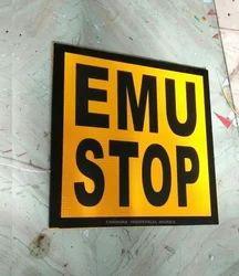 EMU Stop Board