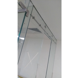 Transparent 101-500 Square Feet Toughened Glass, Shape: Flat