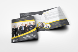 Half - Fold Brochures