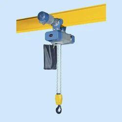 electric chain hoist, capacity: 1 - 50 ton