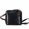 Black Ladies Leather Hand Bag