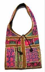 Vintage Look Nice Multi Color Indian Traditional Ladies/Girls Handbag i17-424