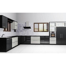 L Shaped Modular Kitchen, Modular Kitchen | Bengaluru | Home Lene | ID:  15705197291