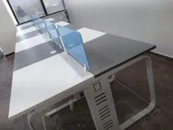 Metal Open Desking workstations