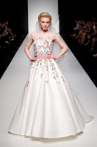 Cotton Bridal Dress Embroidery Services, Anita Fashion Boutique   ID ...