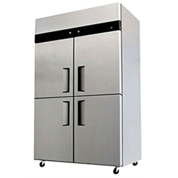 Agni Stainless Steel Four Door SS Refrigerator