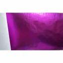 Purple Metallic Laminated Non Woven Fabric Roll