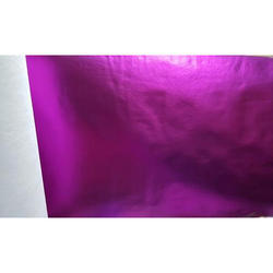Purple Color Metallic Laminated Non Woven Fabric