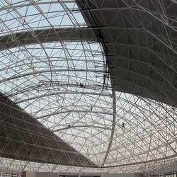 Space Frame Dome Roof Steel Structure