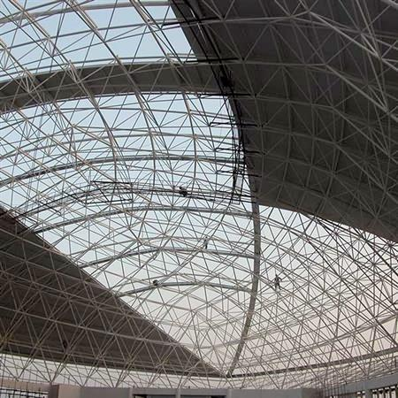 Space Creative Designers Space Frame Dome Roof Steel
