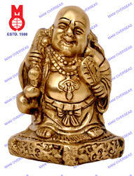 Happyman Standing Statue With Bag