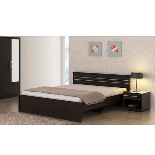 Exceptionnel Wooden Modern Simple Wood Bed