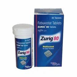 Zurig 80 Febuxostat Tablets