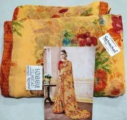 Branded Printed Saree