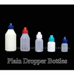 Plain Dropper Bottles