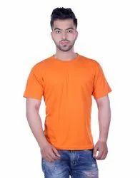 Men Solid Round Neck T-Shirt